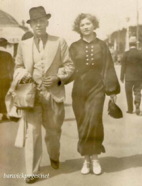 Jack George Johnson & Elsie Kathleen(Kitty) Barwick.